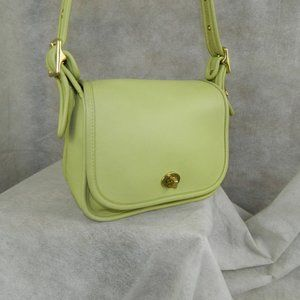 VERY RARE COACH Vintage Legacy Small Flap Bag#9965